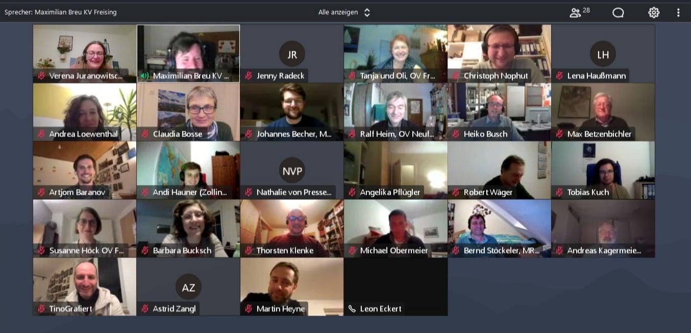 Digitale Kreisversammlung mit Delegiertenwahl